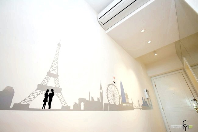 Фото - Біла ілюзія в дизайні квартири-студії