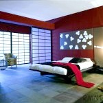 Спальня в японському стилі фото