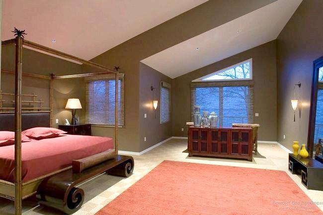 Фото - Спальна кімната в східно-японському стилі