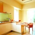 Інтреьер кухні в японському стилі фото