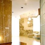 Дизайн сучасної вітальні в японському стилі