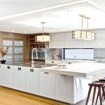 Сучасний інтреьер кухні в японському стилі фото