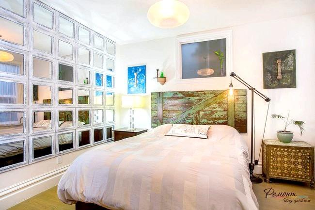 Фото - Яскрава та стильна червона спальня