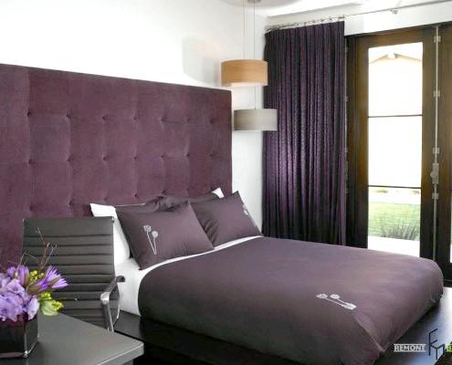 Фото - Фіолетові штори