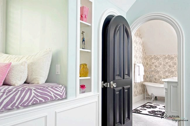 Фото - Міжкімнатні двері в інтер'єрі