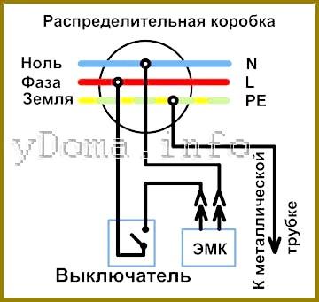 Фото - Електрична схема управління біде унітазу вимикачем