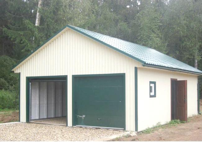 Фото - Як зробити монтаж даху гаража самостійно