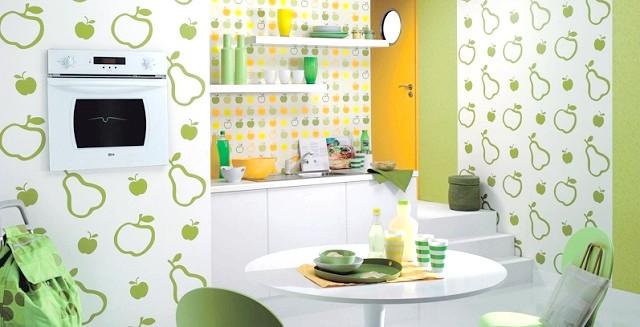 Фото - Як вибрати відповідні шпалери для кухні
