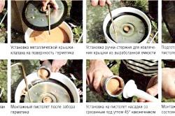 Послідовність робіт з герметиком