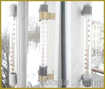 Фото - Як закріпіті вуличний спіртової термометр на пластиковому вікні