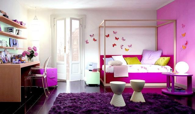 Фото - Колекція фото стильних кімнат для підлітків дівчаток