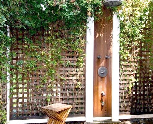Фото - Літній душ на дачі - цікаві ідеї