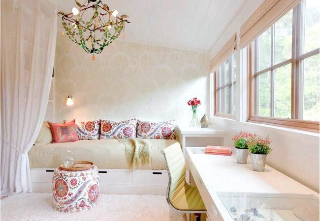 Фото - Не в метрах щастя: дизайн маленької кімнати