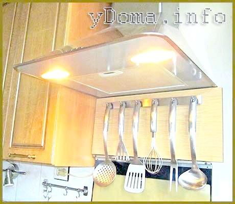 Фото - Облаштування кухні, як підвісіті Кухонне приладдя