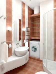 Фото - Приклади і фотографії декору ванної кімнати невеликих розмірів