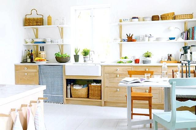 Фото - Рецепт приготування кухні в скандинавському стилі
