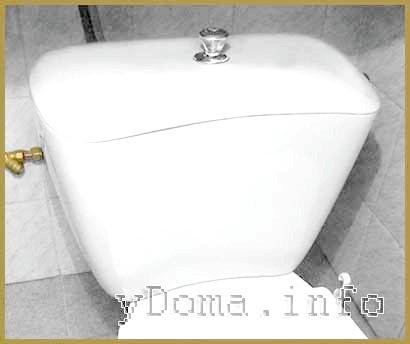 Фото - Унітаз компакт - Усунення протікання води злівного бачка