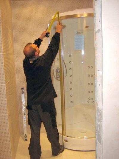 Фото - Збірка душової кабіни своїми руками: покрокова фото-інструкція