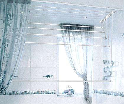 Фото - Сушарка для білизни в ванну - необхідний атрибут