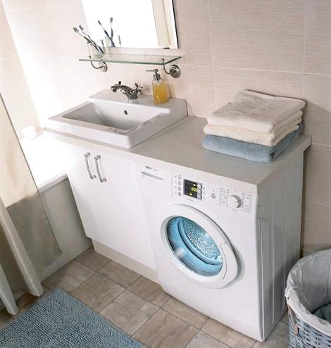 Фото - Встановлення пральної машини у ванній: покрокова інструкція