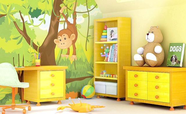 Фото - Вибираємо фотошпалери для дитячої кімнати