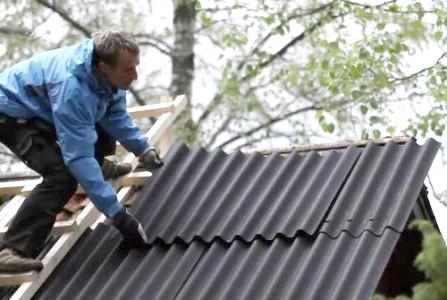 Фото - Андулін - відмінний варіант покриття даху