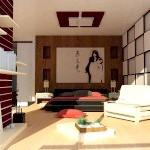 Японський інтер'єр квартир фото