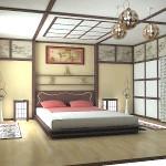 Японська кімната інтер'єр