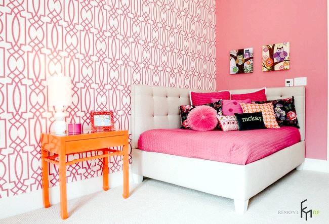 В рожевому кольорі