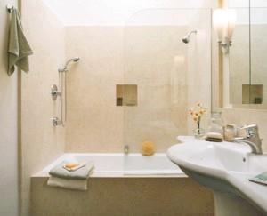Фото - Фото дизайну ванної кімнати і санвузла в хрущовці, і рекомендації до планування ремонту