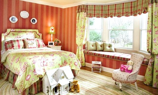 Фото - Ідеї оформлення дизайну дитячої спальні для дівчинки - фото красивих кімнат