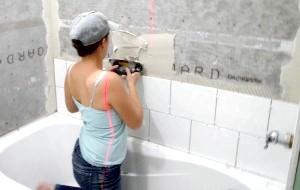 Фото - Інструкція самостійного вибору і кладки плитки у ванній кімнаті