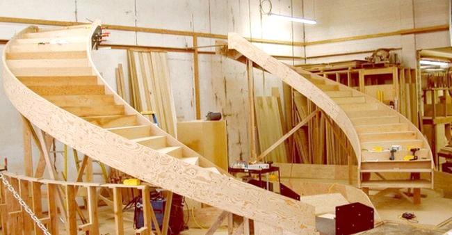 Фото - Виготовлення сходів - захоплююча справа