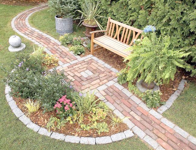 Фото - Пристрій садових доріжок з різних матеріалів