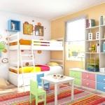 Інтер'єр дитячої кімнати фото