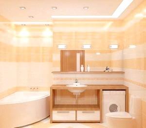 Фото - Як правильно організувати освітлення в туалеті і ванній кімнаті?