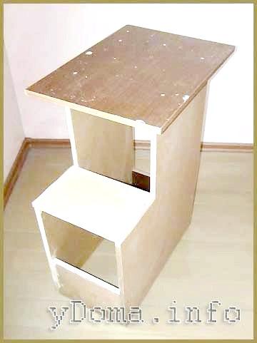 Фото - Як зробити столик для ремонту квартири з підручних матеріалів