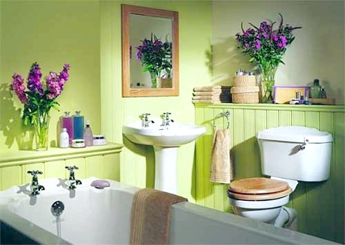 Фото - Фарба для ванної кімнати: нюанси вибору