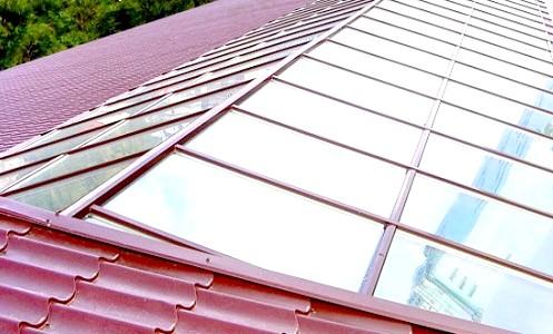 Фото - Дах зі скла: прикраса будь-якої будівлі