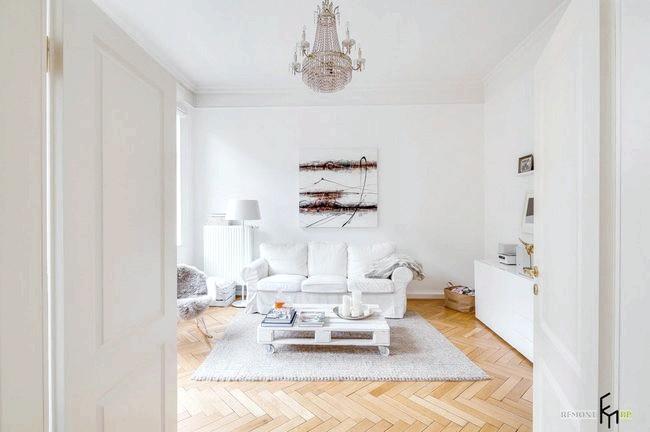 Фото - Квартира в білому кольорі - зразок досконалості і гармонії