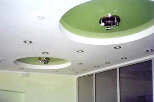 Фото - Монтаж натяжної стелі до гіпсокартону