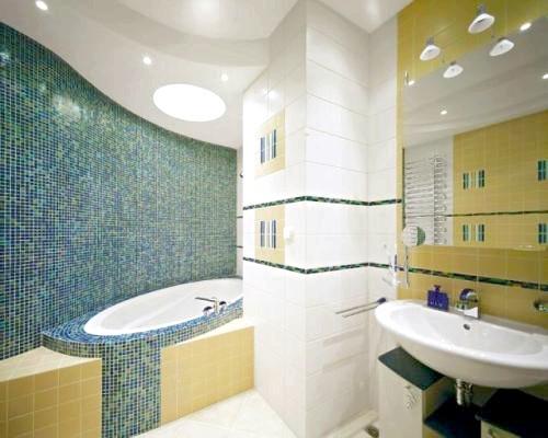 Фото - Монтуємо стеля з гіпсокартону у ванній: особливості та технологія установки