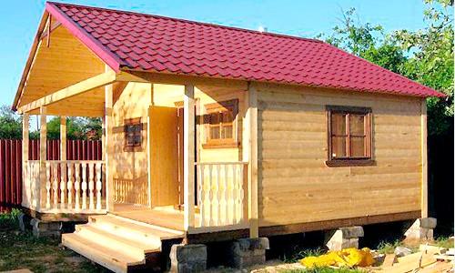 Фото - Зовнішня обробка лазні: кілька способів прикрасити будинок