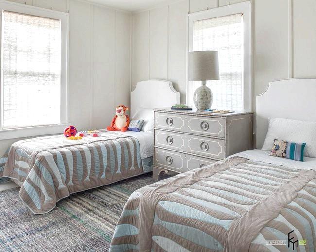 Фото - Незвичайне напрямок дизайну - дитяча кімната в сірому кольорі