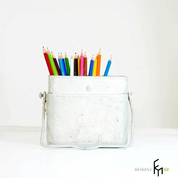 Фото - Незвичайні підставки для олівців і ручок своїми руками