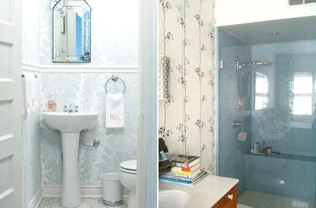 Фото - Шпалери для ванної кімнати: основні види