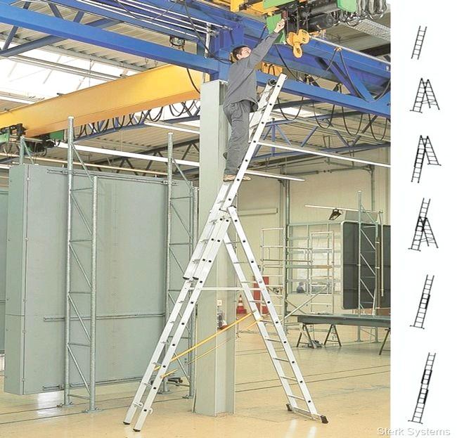Фото - Оптимальна робоча висота сходів