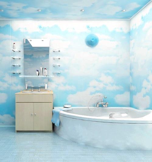 Фото - Обробка ванної кімнати пластиковими панелями