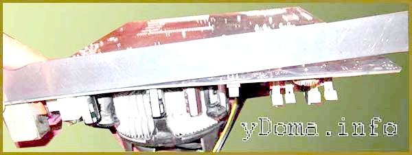 Фото - Переробка системи крепленіярадіатора процесора комп'ютера