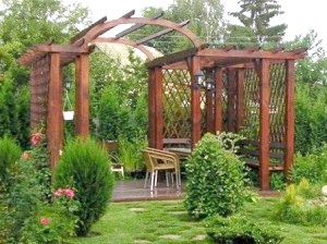 Фото - Пергола своїми руками: робимо ефектне і практичне прикраса для саду